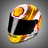 Simpson Racing Helmet