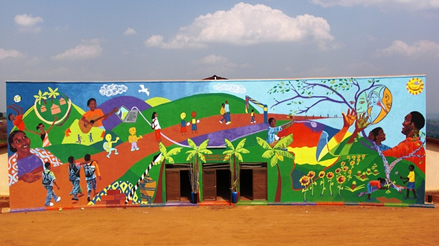 The Agahozo-Shalom Youth Village Mural