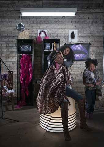 BRAID/WORK | Still #1 | Sarah Beth Woods and Fatima Traore