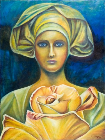 Madonna of the Rose (Madonna de la Rosa)