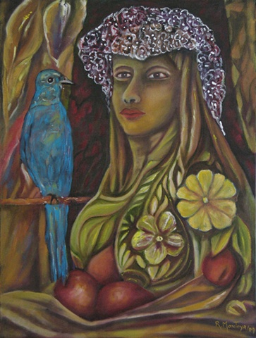 The Lady and The Bluebird