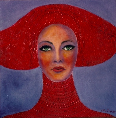 Woman with Red Headdress