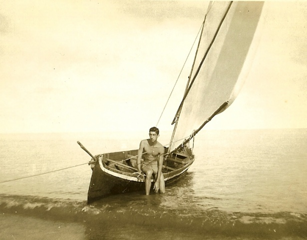 Roberto (1953) at Tolu Beach, Colombia,S.A.