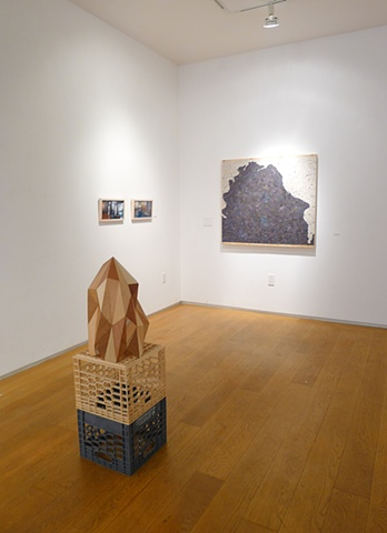 "Exhibition view of ""Casting Memories"", at Artgate Gallery, New York"