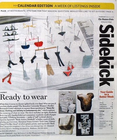 "Goldstein, Merideth, ""Ready to Wear,"" Boston Globe, Arts Section"