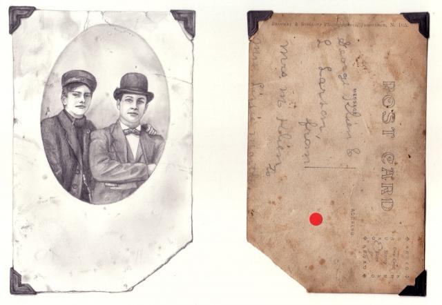 George Klein and L Larson from Mrs. M Klein to Mrs Lizzie Martle