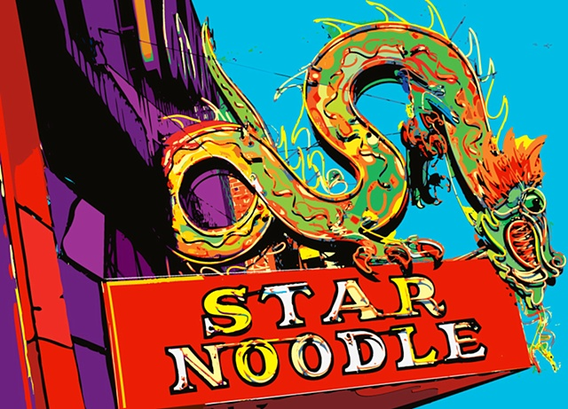 star noodle, ogden