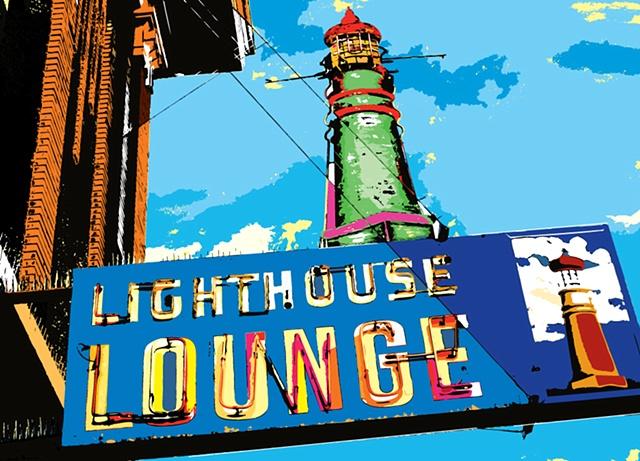 lighthouse lounge, ogden