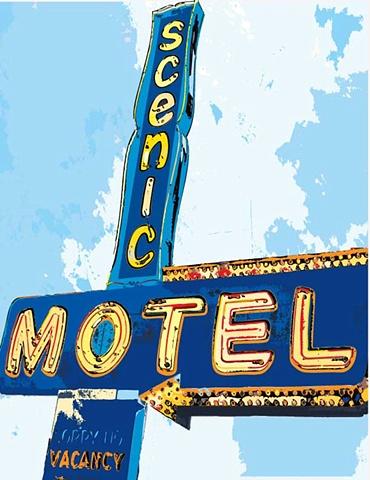 scenic motel, slc