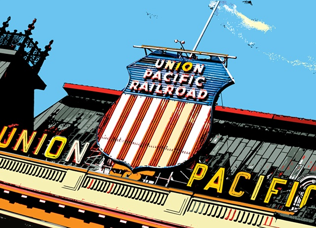 union pacific, slc