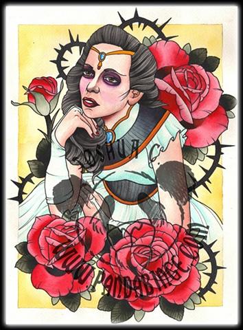 Girl Roses
