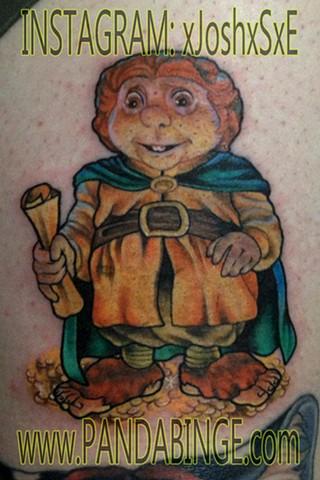 Bilbo Baggins Tattoo