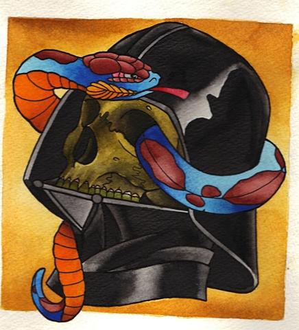 Vader skull