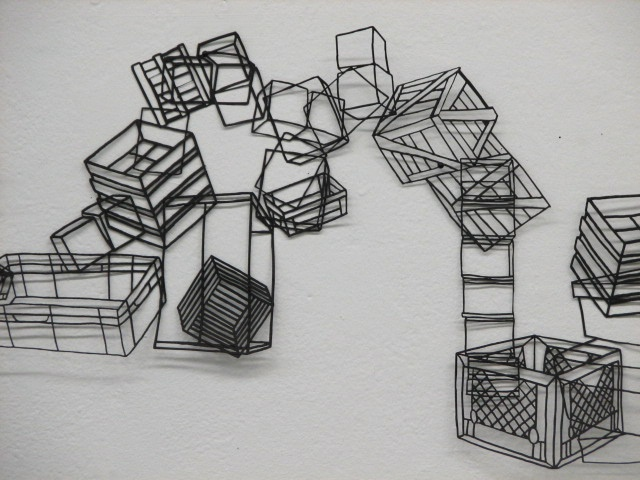 Boxes No. 1, detail