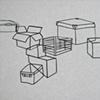 Boxes Landscape, detail 2