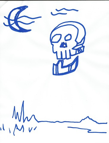 The Blue Drawings 2