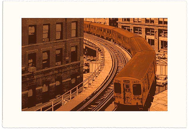 Brown Line II