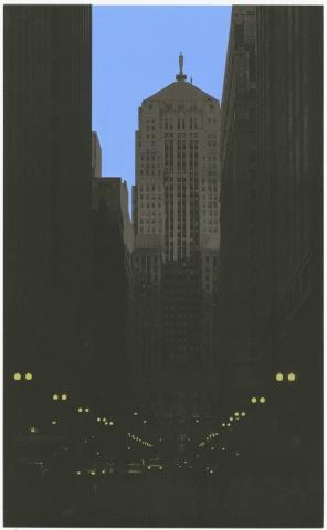 Lasalle Street (blue)