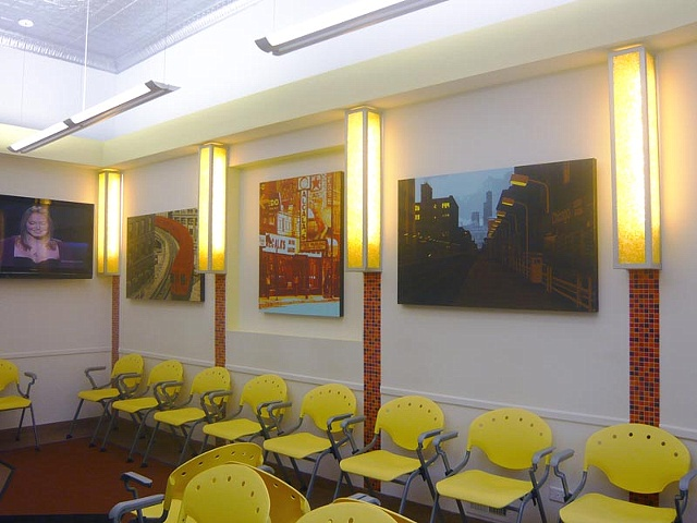 Wicker Park Orthodontist Lobby