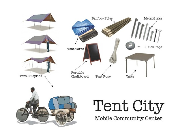 Tent City - Mobile Community Center