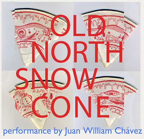 Old North Snow Cone - performance poster
