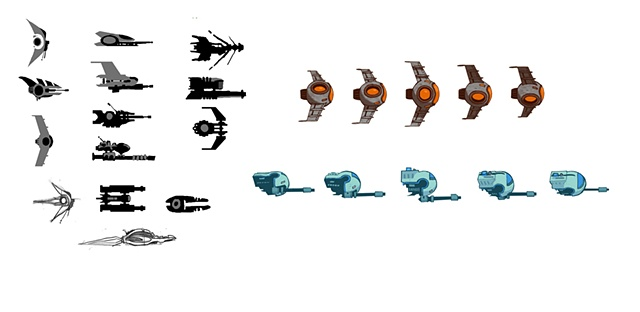 Echo Storm ship designs