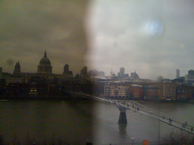 From the Tate Modern, London