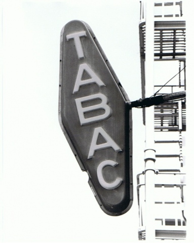 Tobacco Sign, San Francisco