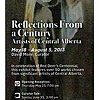 Reflections From a Century Artists of Central Alberta