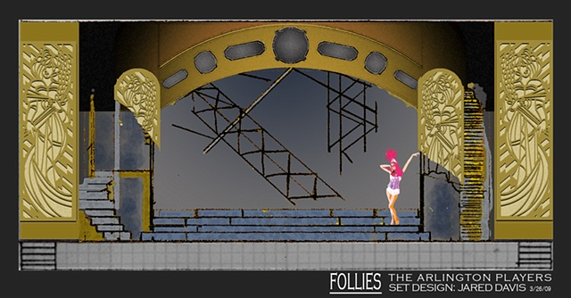 FOLLIES Act I Design