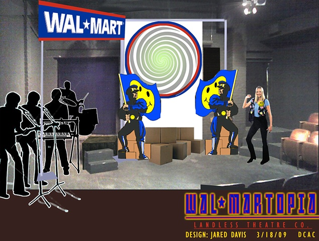 Walmartopia Set Design