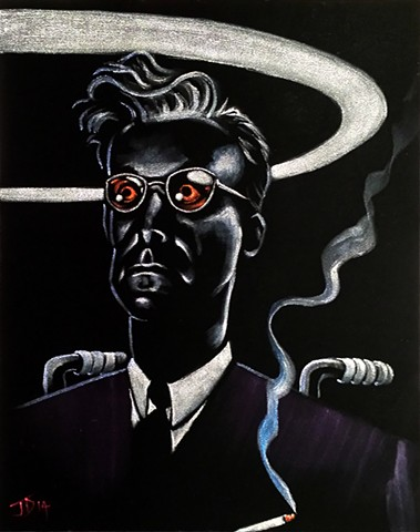 Velvet painting of Dr Strangelove