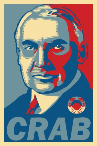Graphic for President Harding is a Rock Star
