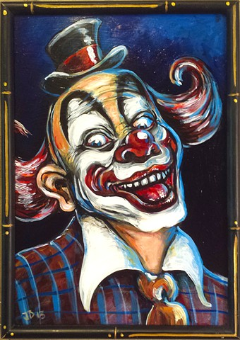 Creepy Clown Painting number 1