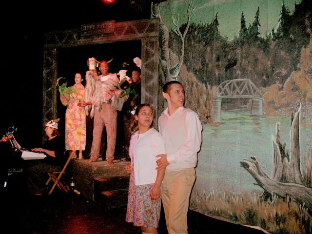 Production Photo of Batboy, Landless Theater