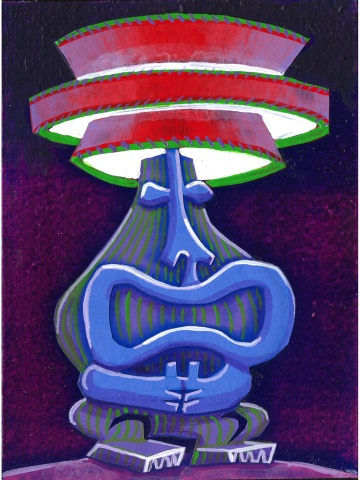 Tiki Lamp II (sold)