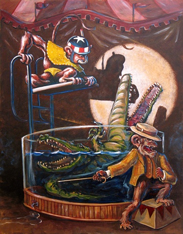 Gator Wrestlin' (Sold)