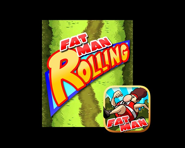 Logo and icon design for Fat Man Rolling