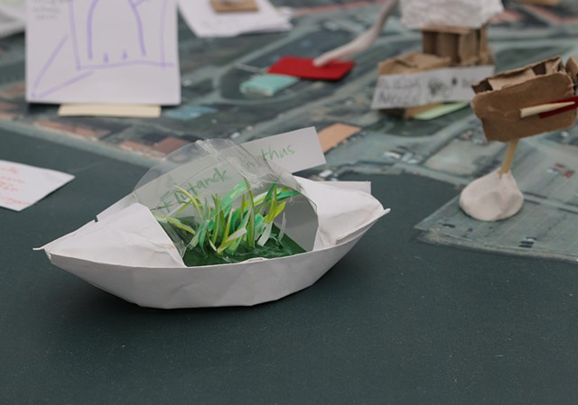 Participants Suggestion for Älvstranden: Floating Greens