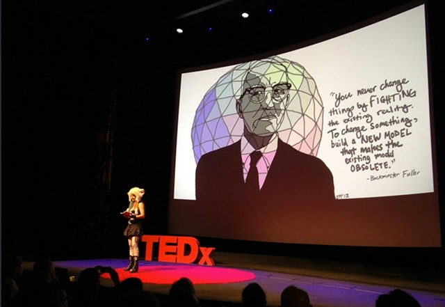TEDx Photo of  Jasmine Idun Lyman's talk