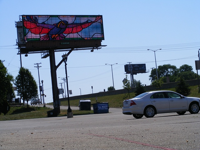Detroit In Flight The Billboard Art Project