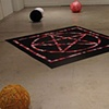 Yarn Balls and Pentagram Quilt, Installation View