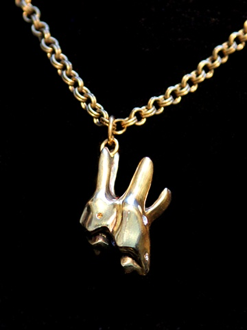 Cow's Tooth Necklace