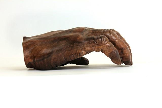 Reliquary: Gorilla Hand I