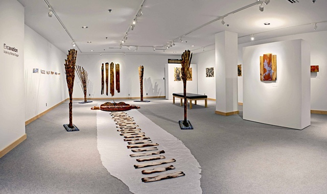 Excavation (installation view)