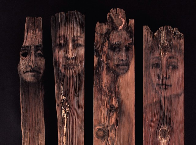 Totems (detail)