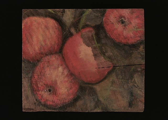 Apples on Ground I