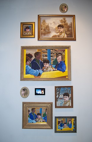 David Kagan art painting installation Mike Kelley childhood memory gallery museum New York City Cuchifritos