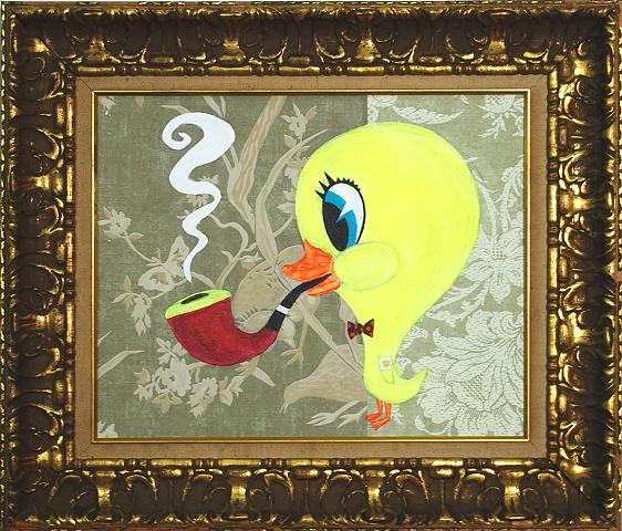 David Kagan Digital Print Art Redacted Bunny Paul McCarthy