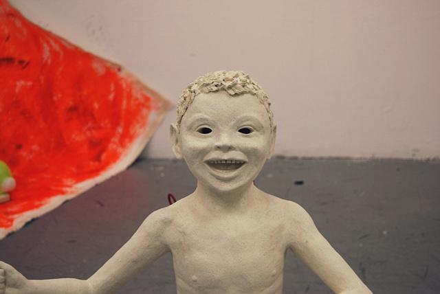 David Kagan Paul McCarthy figural ceramics art New York City sexuality gay